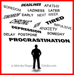 the effects of procrastination on work and you Procrastination (from latin's ann mcgee-cooper says that if we learn to balance excellence in work with excellence in play procrastination: why you do it.
