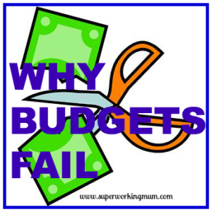 why do budgets fail