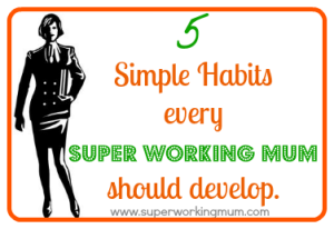 Five simple habits