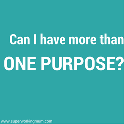 can I have more than one purpose?